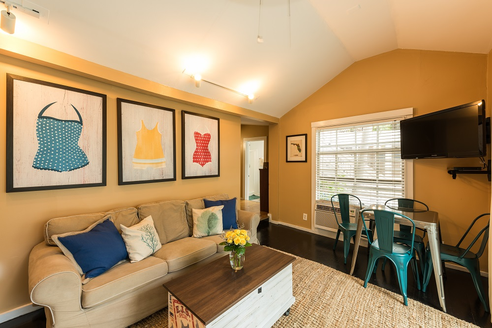 Villas in Key West - Living Room