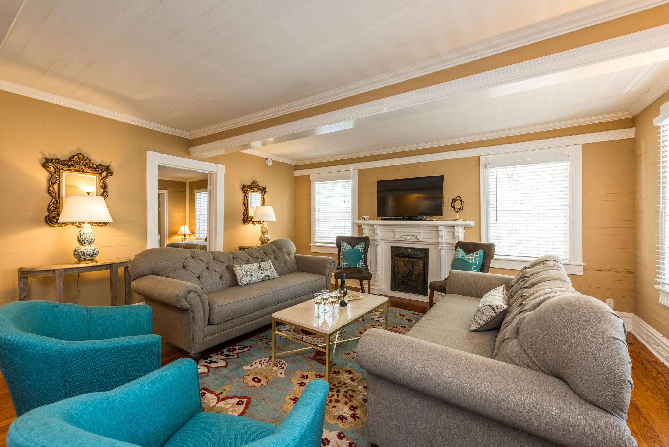 Key West Vacation Home - William Skelton House - Boca Living Room