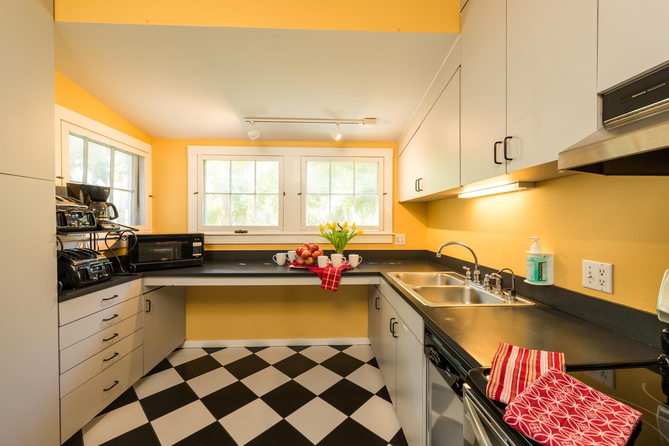 Key West Vacation Home - William Skelton House - Second Floor Kitchen