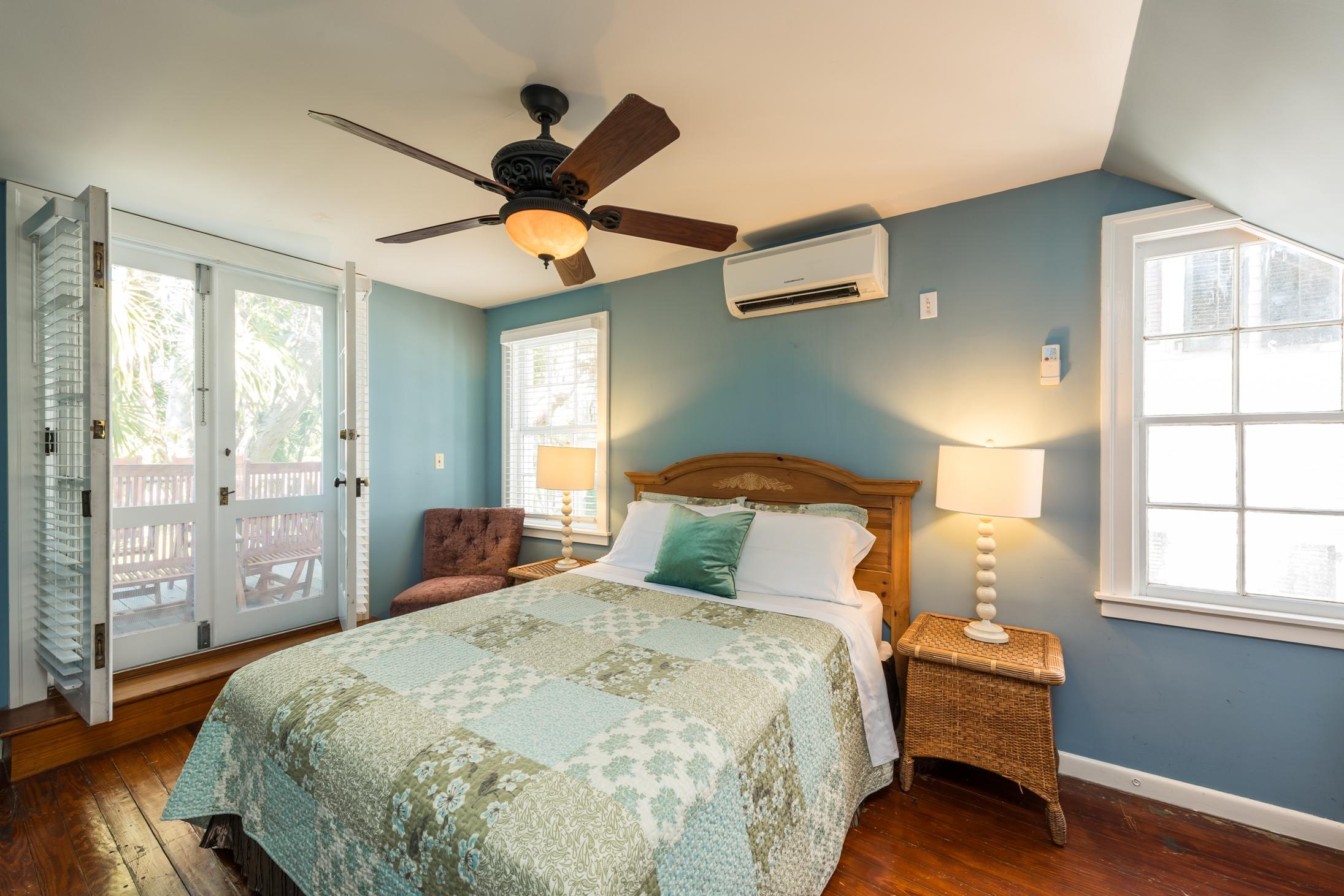 Key West Vacation Home - William Skelton House - Second Floor Queen Bedroom