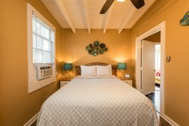 Key West Cottages - Master Bedroom